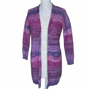 NWT Cocogio Wool Mohair Open Front Cardigan XS